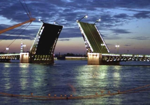 Ночной Санкт-Петербург, санкт-