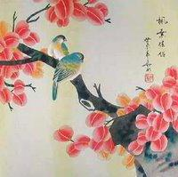 Chinese Flowers and Birds, цветы, природа