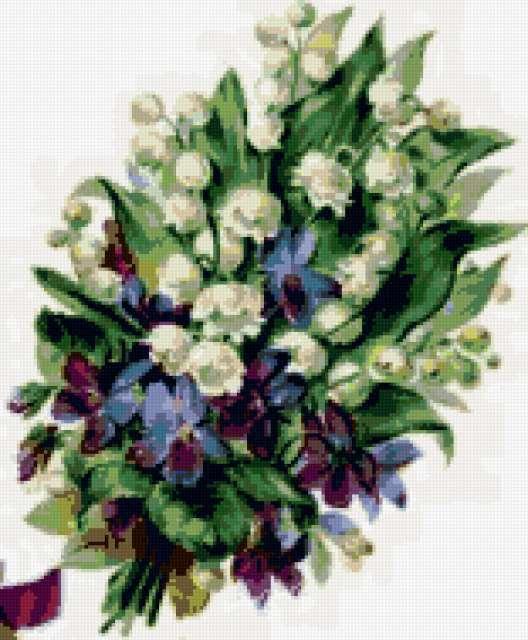 Букет весенних цветов