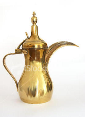 Arab Coffee Pot, кофе