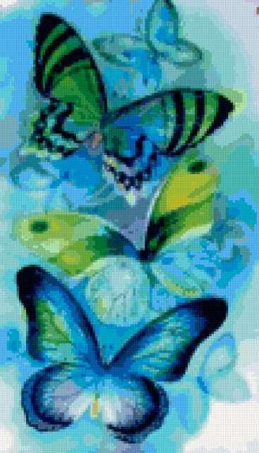 "Триптих ""Бабочки"""