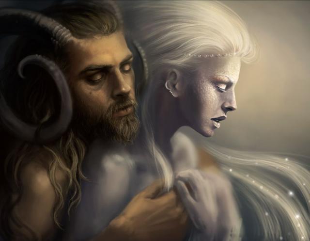 Страсть демона и ангела,