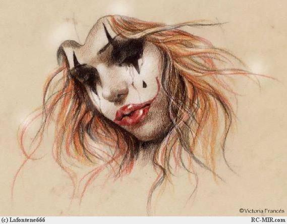 Мрачный клоун, готика