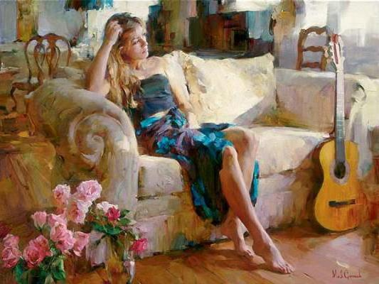 Michael and Inessa Garmash, michael and inessa garmash, девушка
