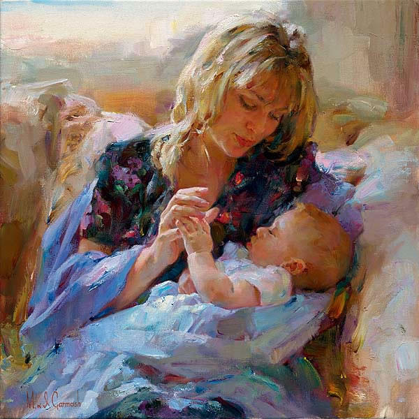 Michael and Inessa Garmash, michael and inessa garmash, дети, матери, женщина