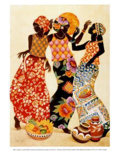 Африканки, дамы
