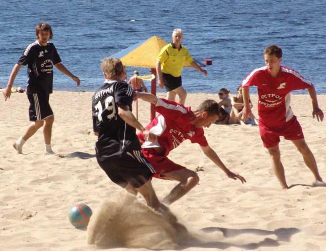 Пляжный футбол, оригинал