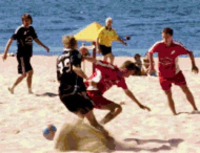 Пляжный футбол, предпросмотр