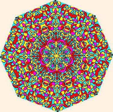 Калейдоскоп вышивка крестом