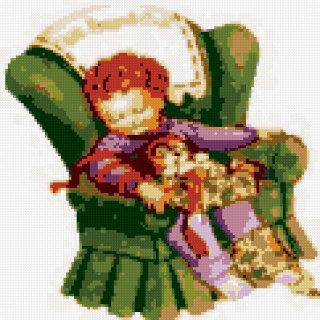 К схеме вышивки «Сладкие сны»