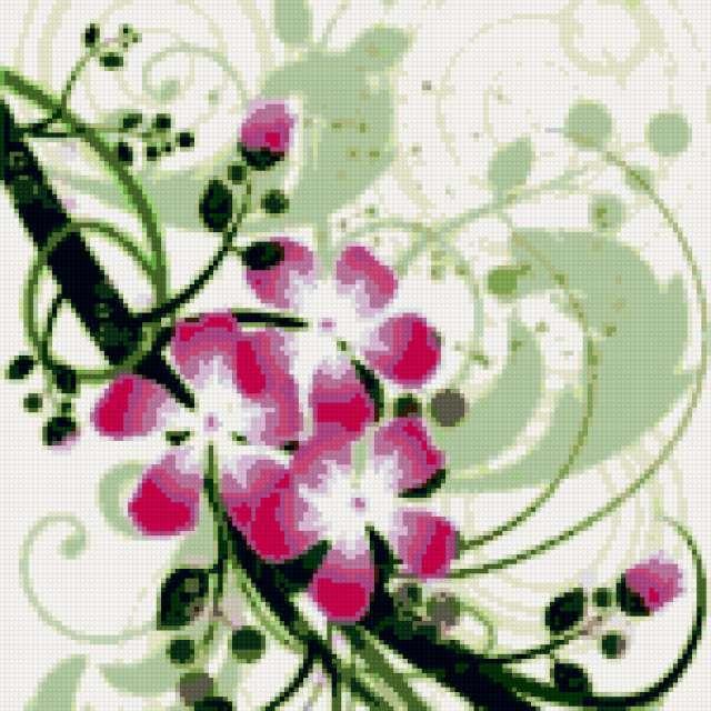 Подушка цветы, подушка цветы