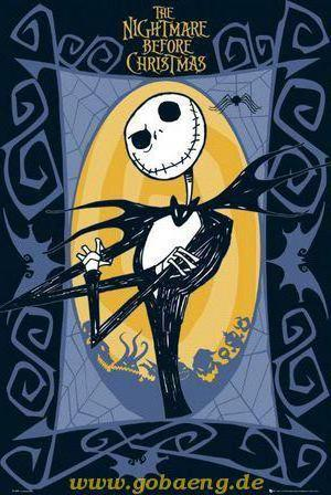 Jack, nightmare before the cristmas