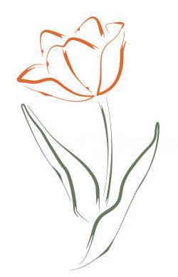 Цветок для вышивки рисунок