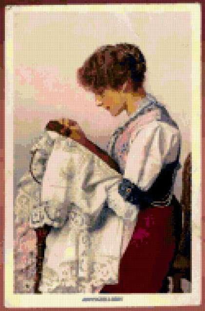 Вышивальщица, предпросмотр