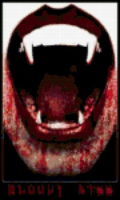 Оскал 1, вампир, оскал, зубы,
