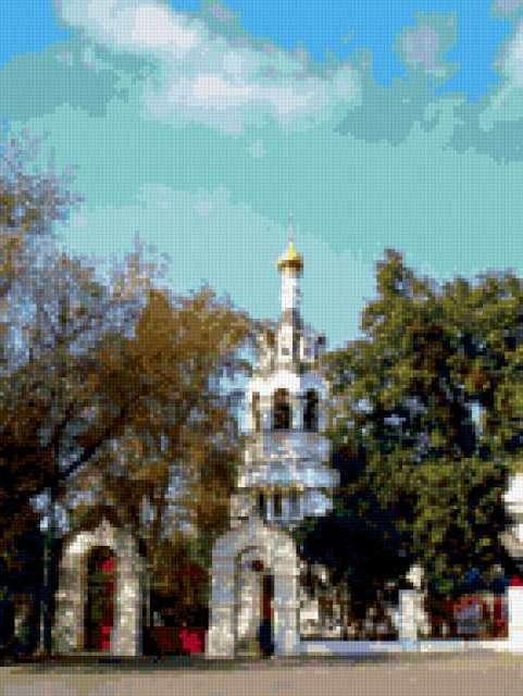 Храм, храмы, церкви, пейзаж