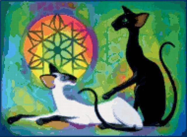 Египетские кошки, животные
