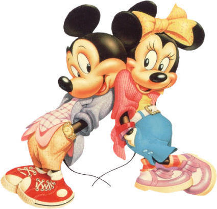 Mickey and Minnie, дети