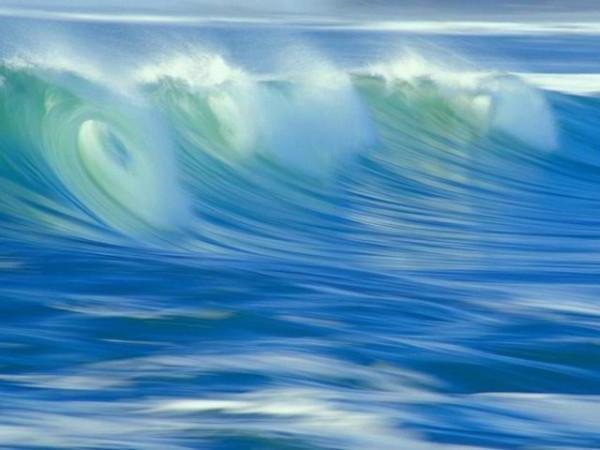Красивые волны, волна, море