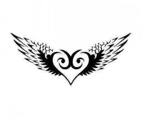 картинка сердце черно белая