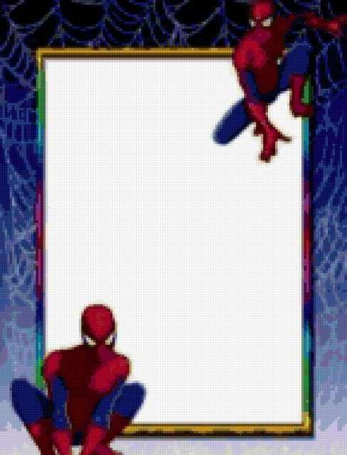 Рамка для фото(человек-паук),