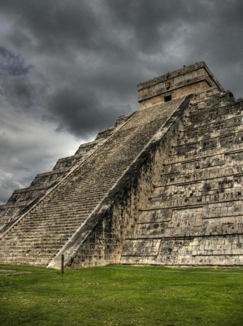 Пирамиды Майя, оригинал