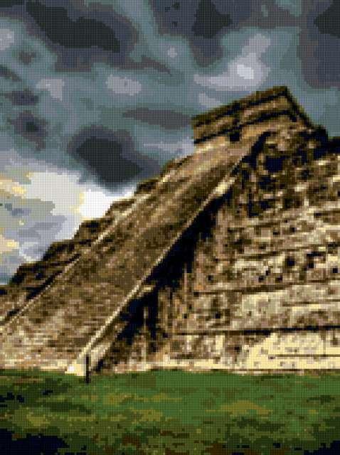 Пирамиды Майя, предпросмотр