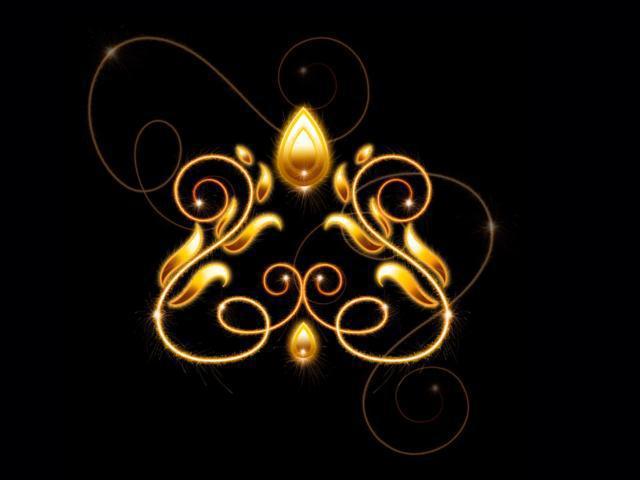 Золотой орнамент, оригинал