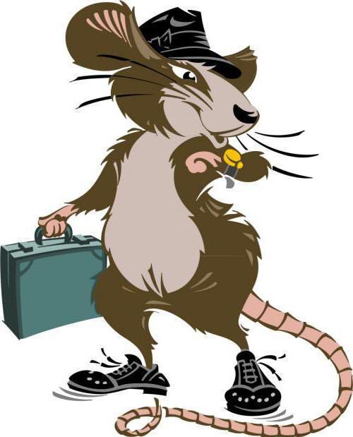 Деловой крыс, мультик