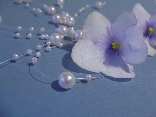 Flower with Pearls, цветы