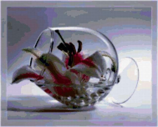 Лилия в бокале, предпросмотр