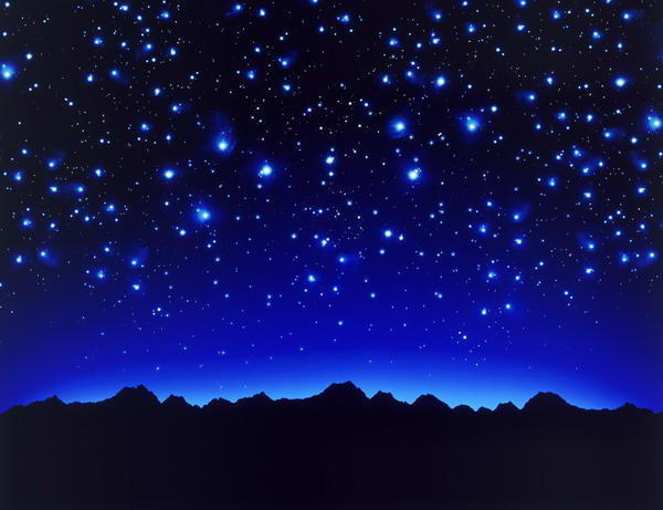Звездное небо, оригинал