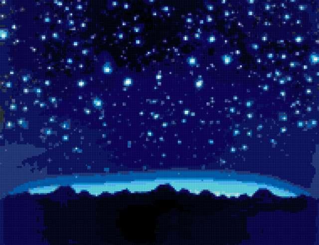 Звездное небо, предпросмотр