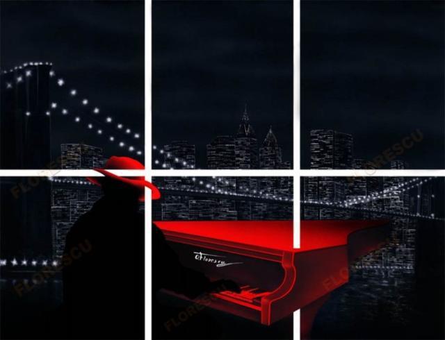 Красный рояль, оригинал