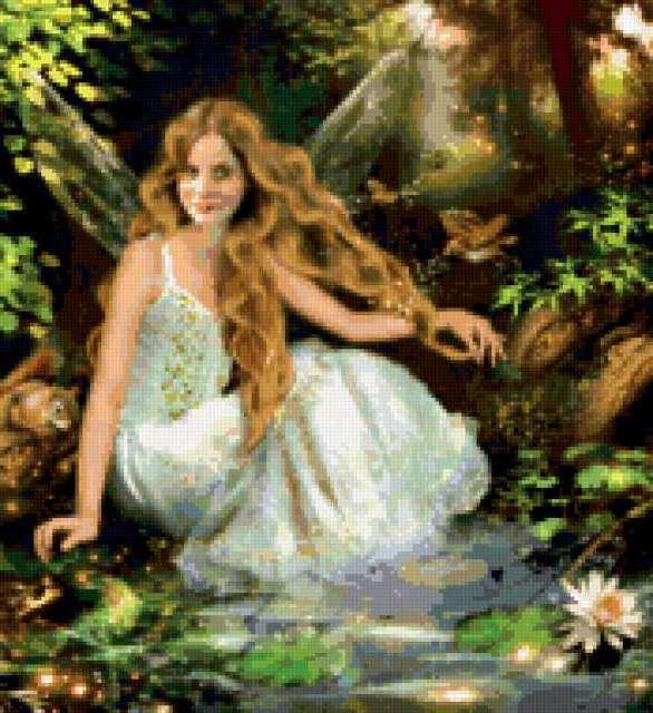 Лесная фея, сказка, легенда