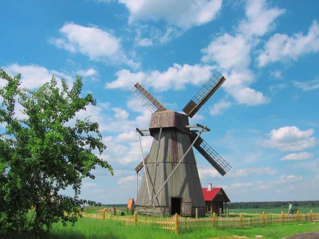 Ветряная мельница, оригинал