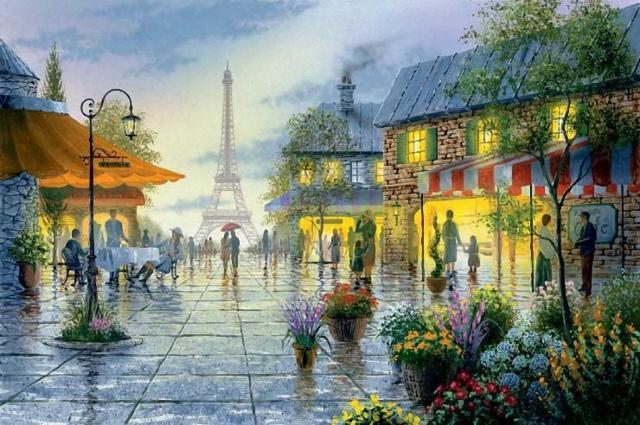Городские пейзажи, оригинал