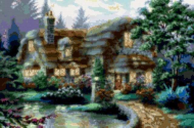 Дом, милый дом, дерево,