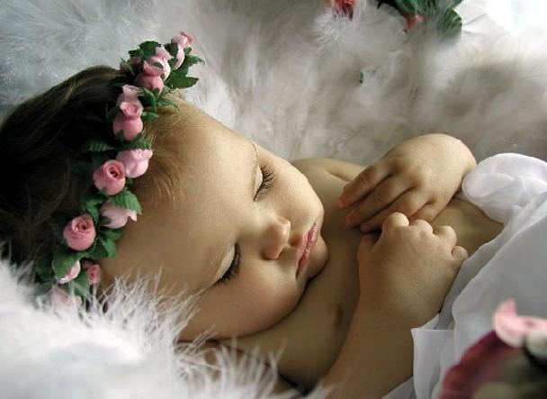 Спящий ангелочек, оригинал
