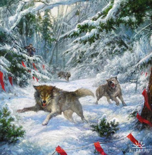 Идет охота на волков, оригинал