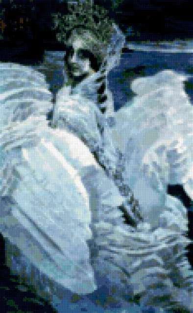 Врубель Царевна-лебедь