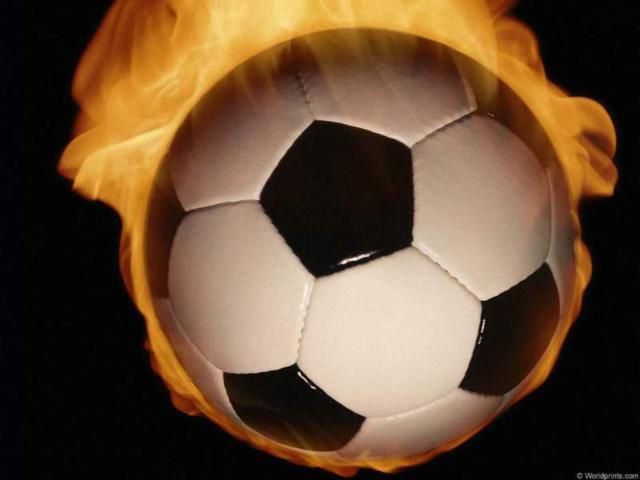 Мяч в огне, оригинал
