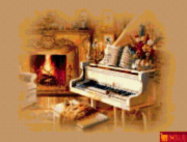 Фортепиано, предпросмотр