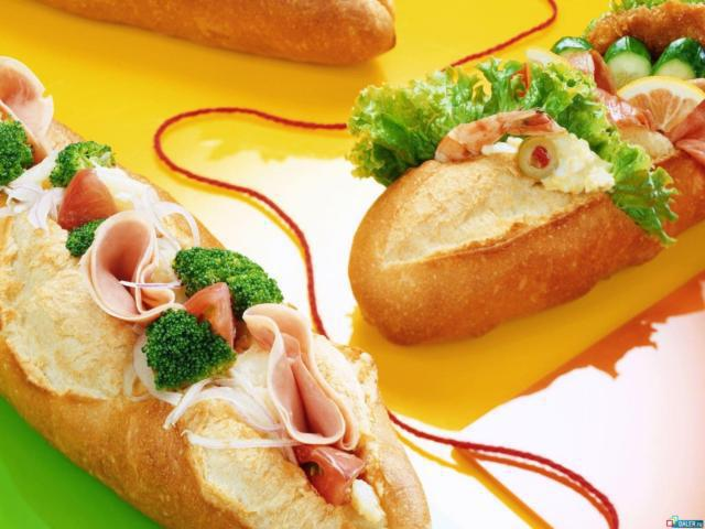 Бутерброды, оригинал