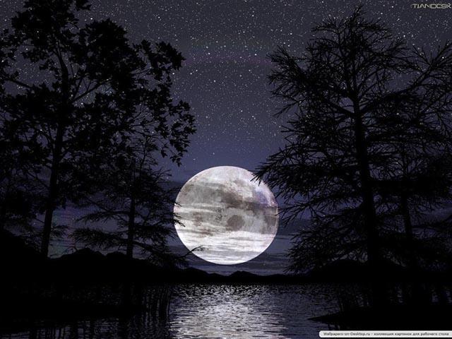 Лунная дорожка, оригинал