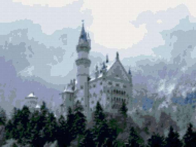 Замок Дракулы, румыния, замок,