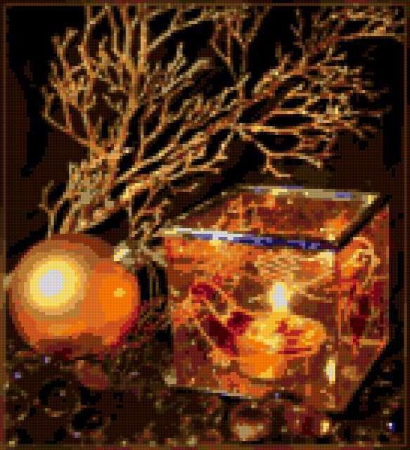Огонь свечи, предпросмотр