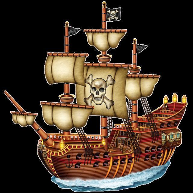 Пиратский корабль, оригинал