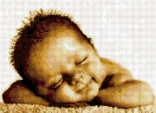 Спящий малыш, дети, малыши,