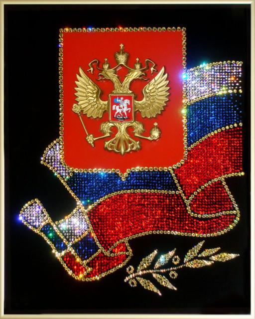Символы россии поделки